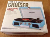 Crosley Cruiser 3-speed turntable