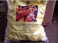 Super heat briquettes Eco logs 10kg bag x 15