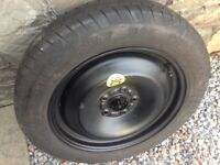 Ford FOCUS C-Max, Grand C-Max spare wheel space saver As New condition