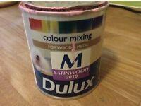 Pink Satinwood PAINT - half tin - Dulux