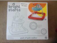 New Bright start Baby walker