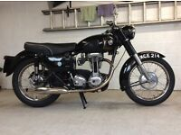 1960 AJS Model 16M 350cc Classic Motorcycle