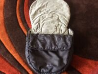 Silvercross pushchair foot muff