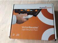 Victor reader digital talking book player.