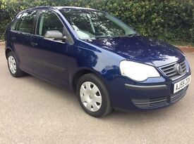 VW polo 1.2 E comes with new MOT, FSH, 1 keeper, HPI clear