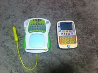 VTech leap frog learn to read/write computers children