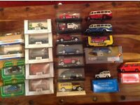 Collection of DINKY die cast cars in mint condition