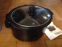 Tesco slow cooker black brand new