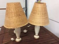 """Two bedside lamps """"free"""""""