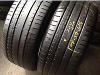 275/40/20 x 2 Pirelli / Runflat/ part worn tyres 275/40/19
