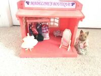 Sylvanian Family set- Madelines Boutique