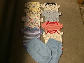 10 Little boys vests