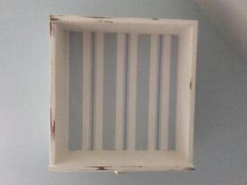 Quirky shabby chic style shelf