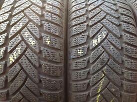 Winter tyres 205/55/16 / Runflat & normal/ sets/ pairs/unit 90 fleet road ig117bg barking