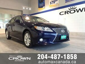 2014 Lexus ES 350 *Leather*htd and cooled seats*