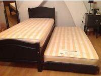 Single bed with pull out bed from Authur Llewelyn Jenkins