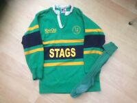 STAGS Huntingdon Rugby shirt and socks