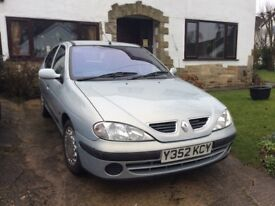 Comfortable four door hatchback with service history.