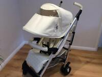 My babiie Stroller/pushchair in cream (Billie Faiers) MB51