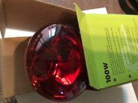Vivarium basking e27 infrared bulb 100w