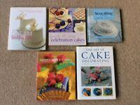 Cake Decorating Books - Celebration Cakes - 5 books