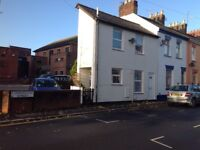 modern 2 bedroom terraced house, close to Exeter centre.