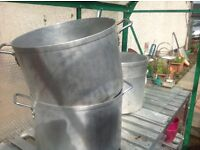 Soup/ jam making pots , two left , ( offers)
