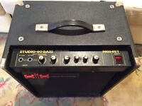 HH Studio 60 bass combo - price reduction!