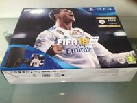 Sony PlayStation 4 – 500 GB and Fifa 18, Controller, Wires, Mint condition