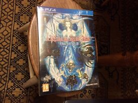 Final Fantasy14 for ps4 Collectors edition UNOPENED