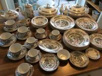 Vintage Tea Set, Coffee Service, Plates, Bowls and Serving Dishes
