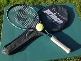Prince Classic Mid Plus Tennis Raquet & Case