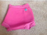Pink Splash About Happy Nappy swim pants xx large (age 2-3)