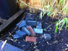 Handful of FREE bricks - located in Church Crookham