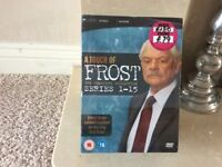 A Touch Of Frost Brand New DVDs Volume 1 and 2