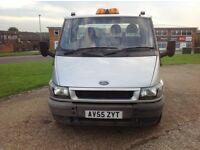 2005 55reg Ford Transit Recovery Truck 2.4 Diesel, 95K, MOT, 16ft Bed, Great Truck, LEZ Pass £2850