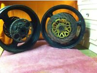 for sale SUZUKI GSF1200 BANDIT 1999 wheels
