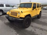 2015 Jeep Wrangler UNLIMITED SAHARA LIFTED A/C MAGS NAVI COMING