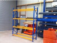 APEX 600mm DEEP INDUSTRIAL COMMERCIAL GARAGE LONGSPAN PALLET RACKING UNIT BAY