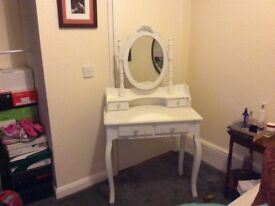 Lovely dressing table for sale hardly used.