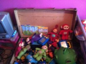 Variety of teletubbies for sale books teletubbies etc good condition