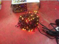576 Multi coloured cluster lights