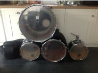 Remo weather King drum kit (incomplete)