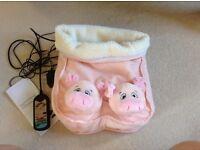 Piggy foot massager