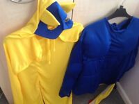 Bananaman fancy dress outfit