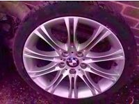 "Bmw Mv2 18"" Alloy Wheel E36 E46 E90 E91 1 Series 3 Series Front or rear (1 WHEEL) Can Post"