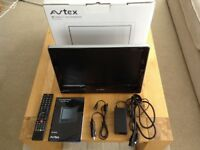 """Avtex 16"""" TV and DVD, 12volt and 240v, for caravan"""