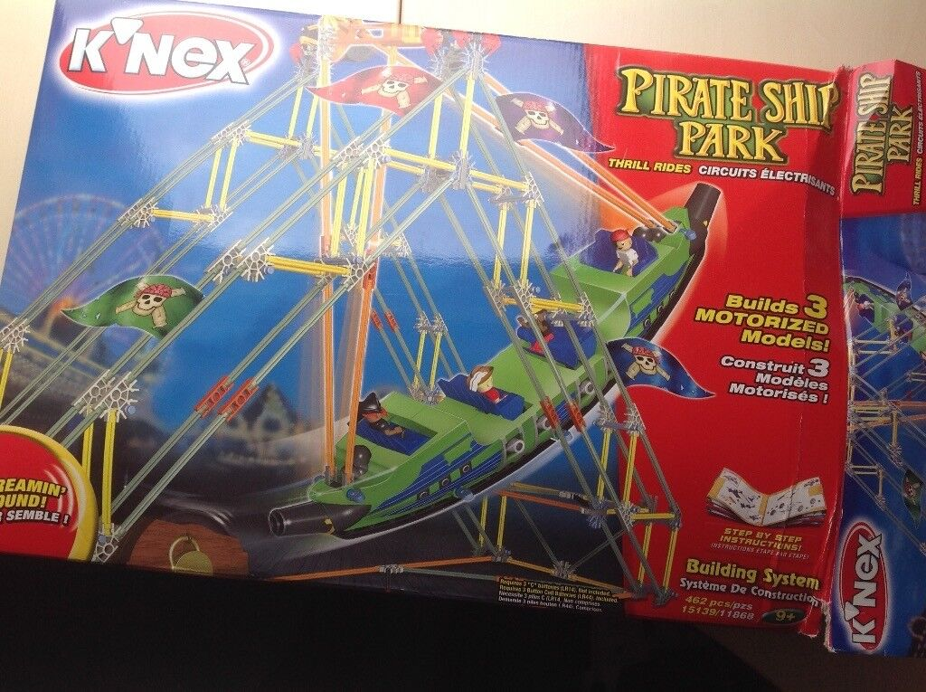 Knex pirate ship park set age 9+