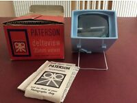 Patterson Deltaview 35mm slide viewer
