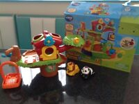 VTech Toot Toot Tree House with Panda and Lion